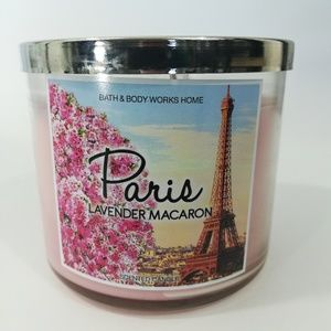 Bath & Body Works Paris Lavender Macaron Candle